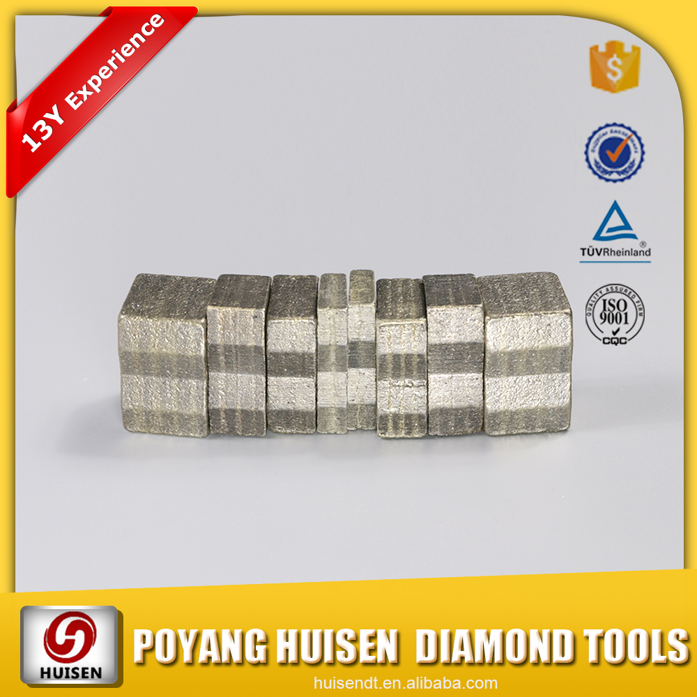 China cutting tools Diamond Segment And Marble Detail