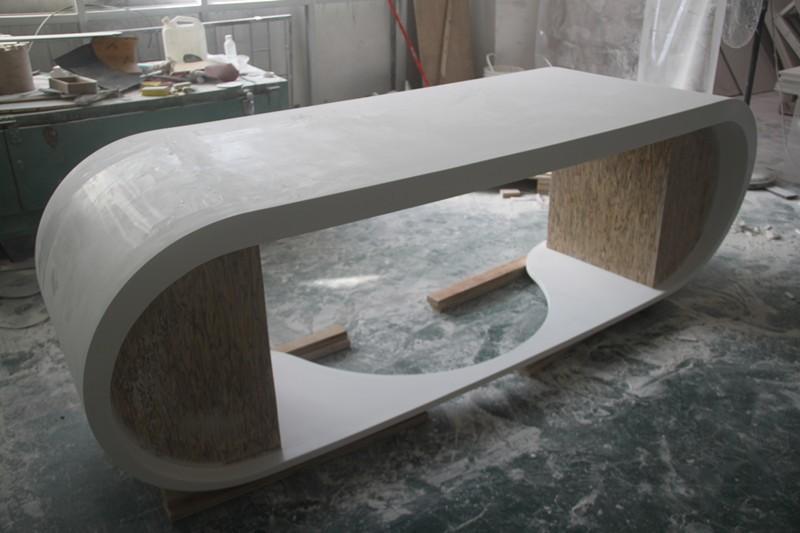 Elegante moderne kantoor tafel design stevige ondergrond executive ceo bureau kantoortafels - Moderne kantoorbureaus ...