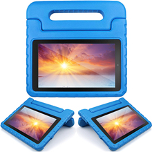 Convertible handle stand eva foam kids case for amazon fire hd 8