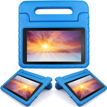 Hot selling kids eva high quality shock proof handle stand case cover for amazon kindle fire hd 7 inch 2015 2017 tablet
