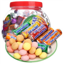 Wholesale Multicolor center filling Mentos Chewing Gum Without Sugar