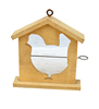 Well-made Beautiful Wooden Suspensible Bird House In the Forest