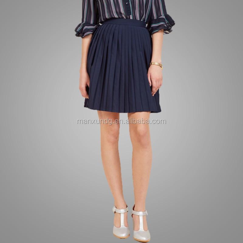 578d7a861cf 2017 Good Quality Korean Design Women Short Dress Ladies Pleated Skirt High  Waist Tennis Solid Micro Mini Skirt