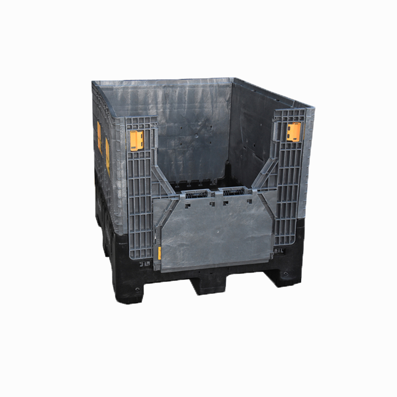 Drum Pallets electrical plastic collapsible pallet box with lid