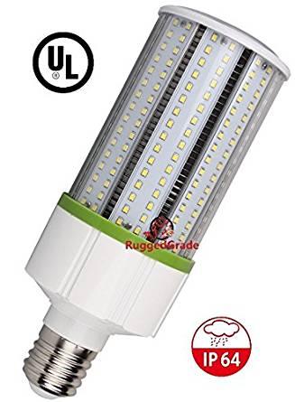 40 Watt LED Bulb - Standard E26 base - 4400 Lumens- 4000K Corn Bulb -Replacement for Fixtures HID/HPS/Metal Halide or CFL - High Efficiency 115 Lumen/ watt - 360 Degree Light– LED Corn Light Bulb