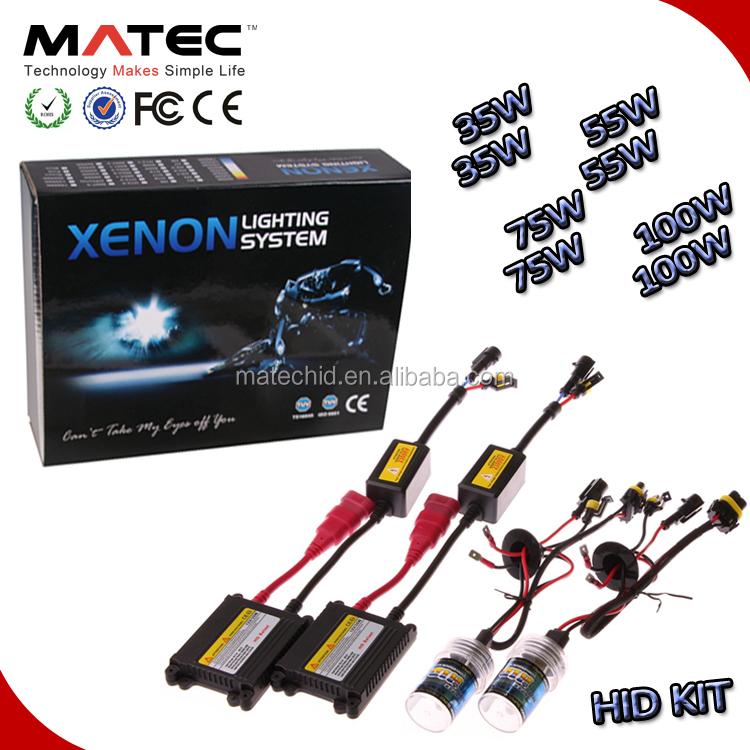 HID Bixenon 9003 H13 9004 9007 H4 35W 55W 75W 100W Kit AC