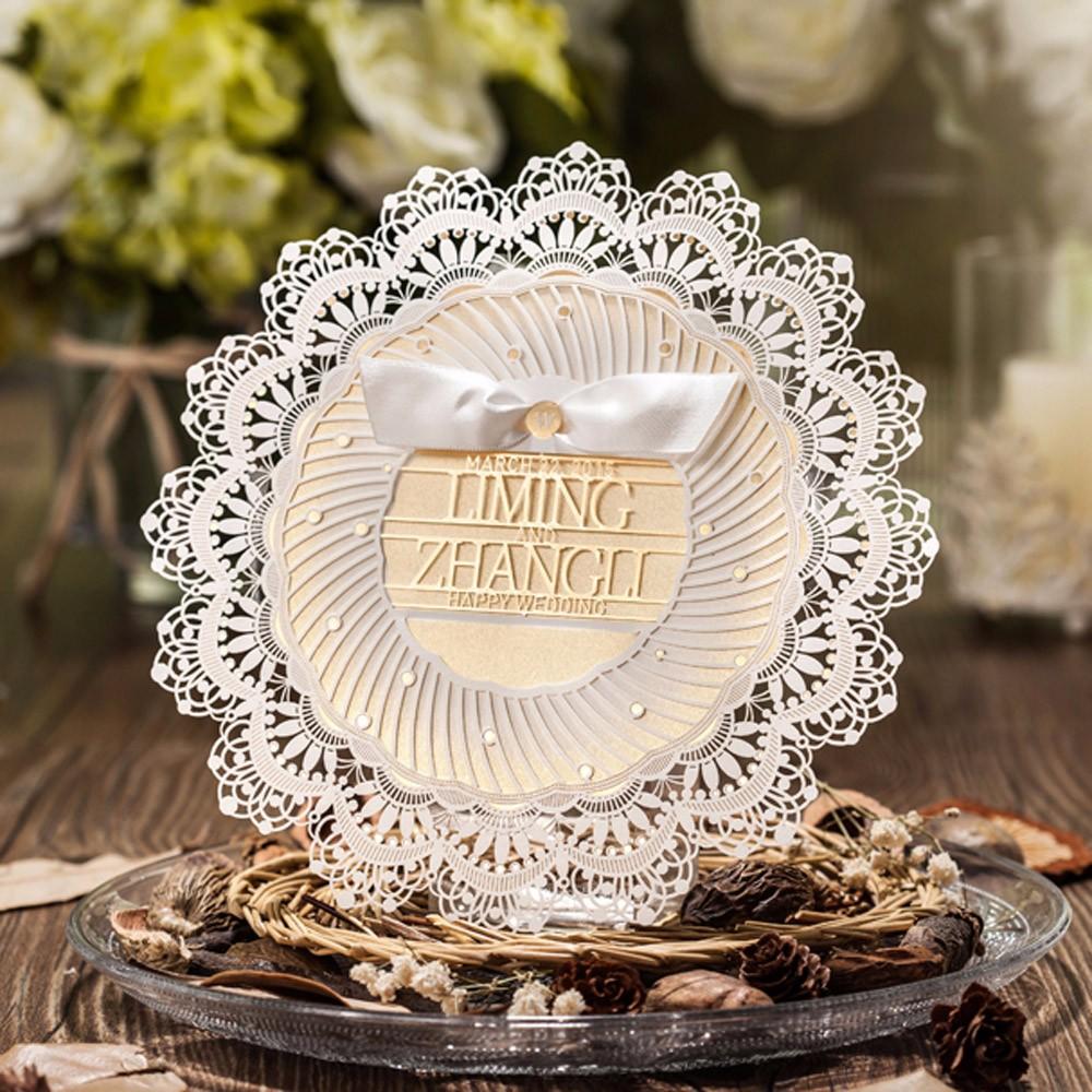 Cheap Tiffany Blue Wedding Invitations: Wholesale Tiffany Blue Laser Cut Wedding Invitations