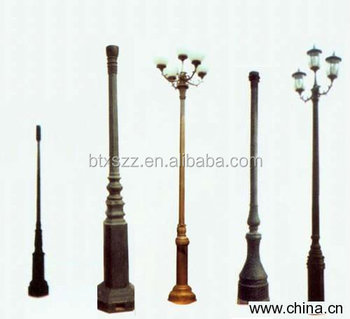 Outdoor Park Cast Iron Street Lighting Lamp Poles,Lamp Post/lamp ...