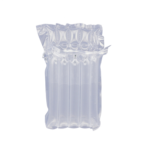 High quality plastic material customized seal bubble cushion air filled bags for red wine