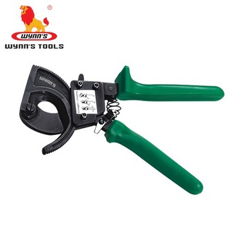 hot sale cable wire rope cutter hand ratchet wire cutter