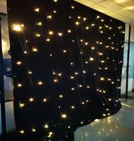 Wholesale Customized size led twinkling stars led curtain lights/ led curtain for stage background