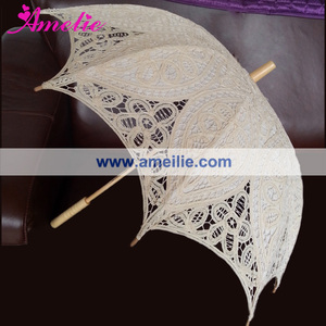 New Patterns Antique Lace Parasol for Sale