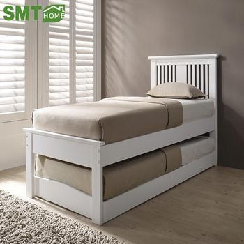 2018 Neue Schlafzimmer Massivholz Kiefer Möbel Bett 2 Tier Einzigen