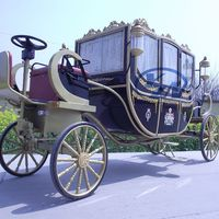 Electric Royal carriage electric vehicle horse wagon