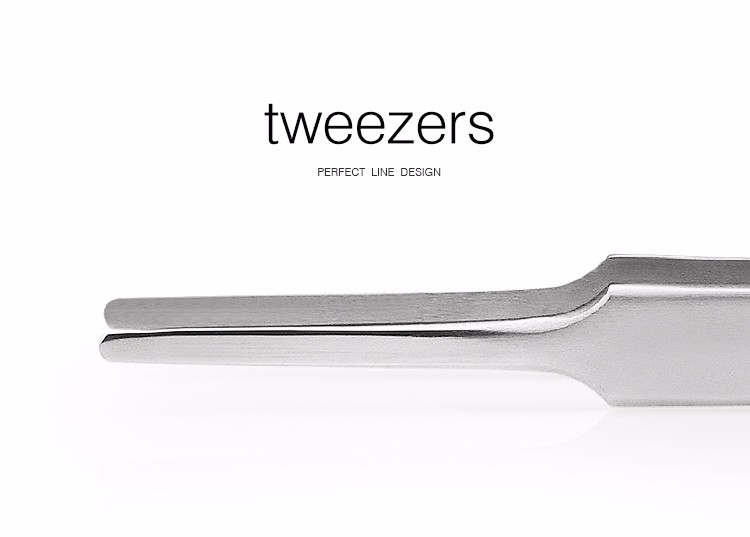 BAKU 2A-16 personalized stainless steel medical tweezers for mobile phone / electronics / watches repair tools