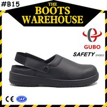 hot sale pu sole material safety toe footwear