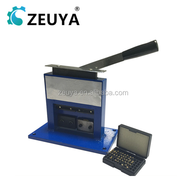 Manual Aluminium Tube Sealing Machine with Date Stamping