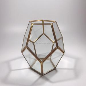 Bulk Copper Geometric Terrarium Bulk Copper Geometric Terrarium