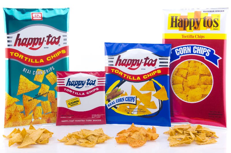 Happytos Corn Chip From Indonesia
