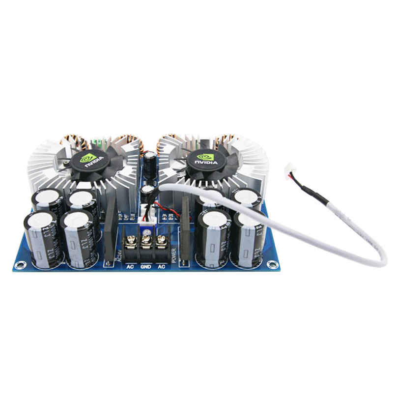 TDA8954TH Digital Audio Amplifier Papan 420 W * 2 Daya Tinggi Dua channel Amplificador Ganda AC24V