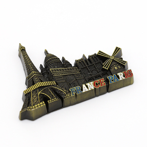 wholesale tourism souvenir metal fridge magnet