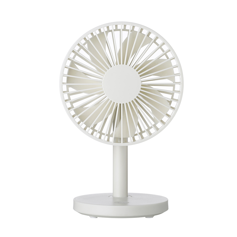 Creative Personal Travel Fan Mini Portable Handheld Fan Rechargeable Battery Operated Pocket Fan Lightweight Small Dual Head Fan Skilful Manufacture Cleaning Appliance Parts