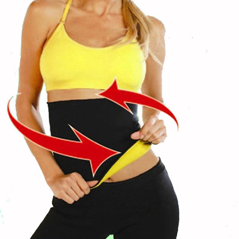 ca0cc6fb8e Get Quotations · Free Shipping women stomach shaper Waist Cinchers Hot  Shapers Fitness Belt Waist Trimmer Belt corset latex