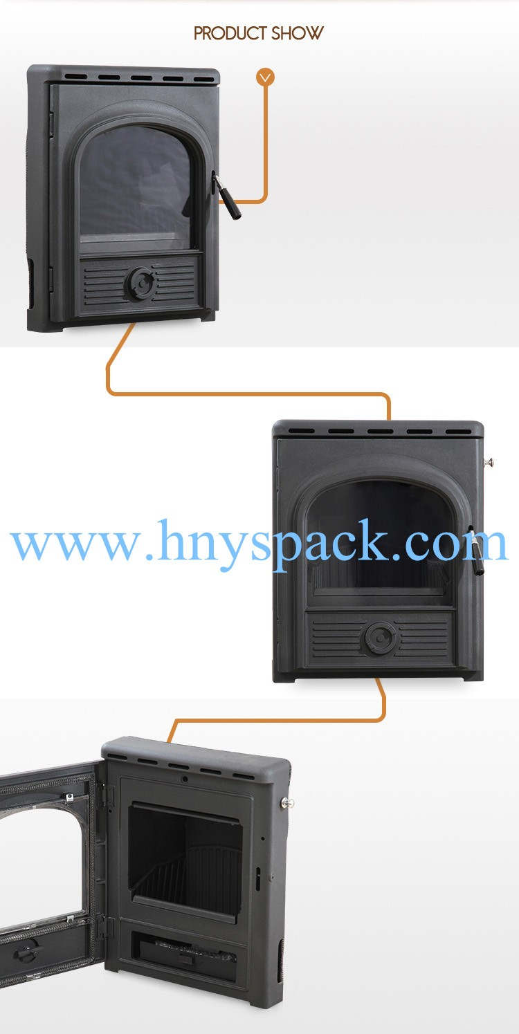Customized cheap price metal indoor electrical fireplace for sale
