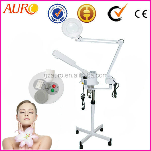AU-900E Top Sell Hot Spray Ozone Steamer and Magnify Lamp Beauty Machine