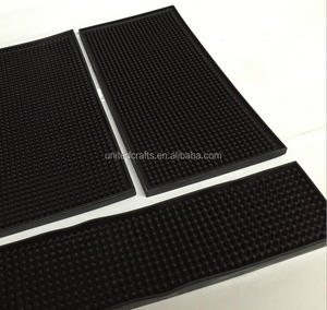 OEM logo soft pvc rubber bar mat barmat with your own branded bar mat