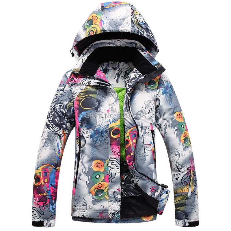 2015 marque hiver veste de ski femmes snowboard veste ski costume neige manteau chaqueta nieve. Black Bedroom Furniture Sets. Home Design Ideas