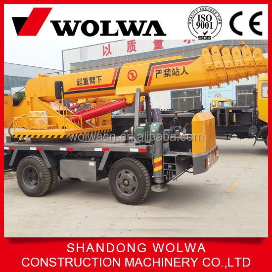 Wolwa 5 tons knuckle boom truck mounted crane GNQY-Z5-1 with low price