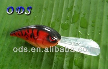 Make plastic fishing lures unpainted crankbaits lures china, View unpainted  lures, ODS Product Details from Guangzhou ODA Fishing Tackle Co , Ltd  on