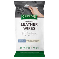 everyday leather wipes for surface cleaning and protection