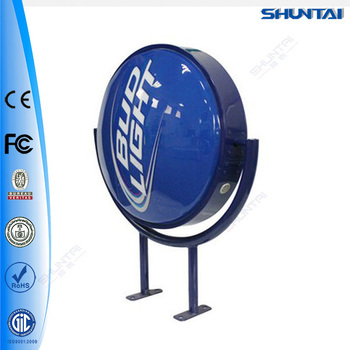 Wholesale 3d Outdoor Vacuum Formed Light Up Sign