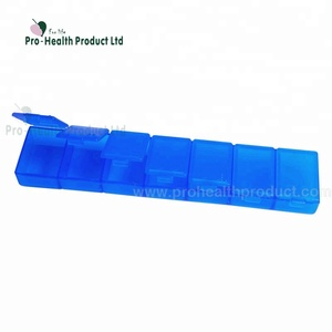 Portable 7 Day Medicine Pill Dispenser