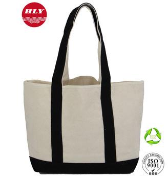 e951141a5 Heavy Duty 2 Toned Wholesale Eco Blank Standard Size Canvas Tote Bag ...