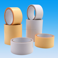 140micron hot melt white embroidery double coated adhesive tape