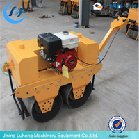 hydraulic vibration double drum compact road roller