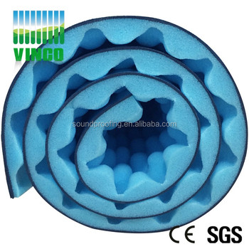 Foil Backed Foam Insulation Sheet For Roofing Pipe House