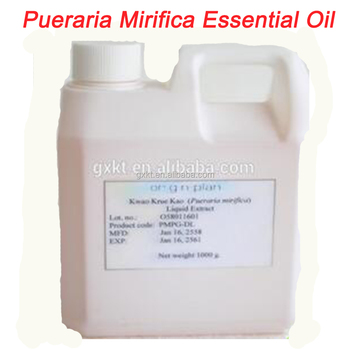 how to make pueraria mirifica oil