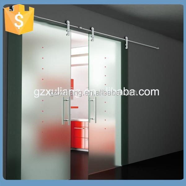 Vidrio esmerilado puertas correderas armario 304 acero - Puertas correderas vidrio ...