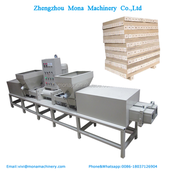 Electric Wood Pallet Block Production Line/sawdust Recycling Wood Pallet  Feet Making Machine/pallet Block Making Machine - Buy Pallet Block Making
