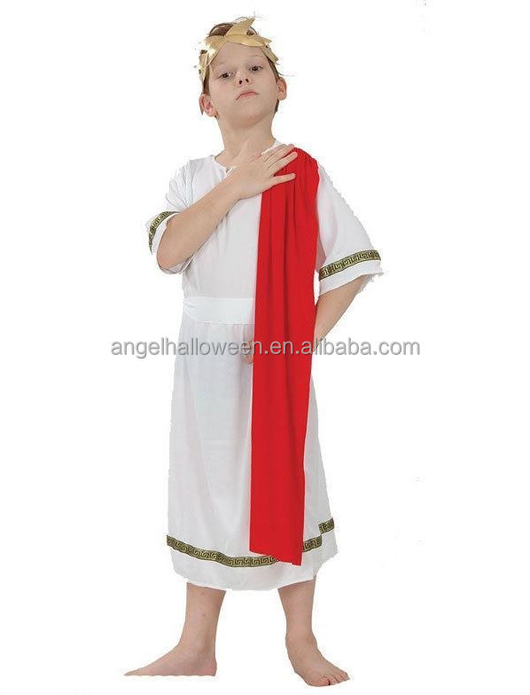 Mens Black Caesar Roman Greek Emperor Toga Fancy Dress Costume Adult Outfit