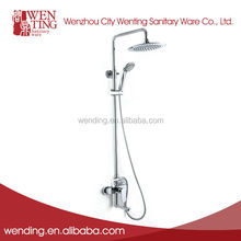 Wenting ISO9001 Hot selling fashionable multiple functions brass shower head set