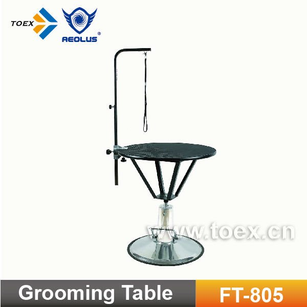Round Dog Grooming Table FT-805