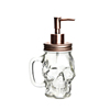 hot sale high quality skull pump soap dispenser