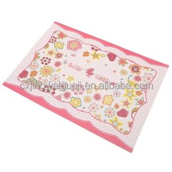 Custom Printed Laminated Disposable Decorative Paper
