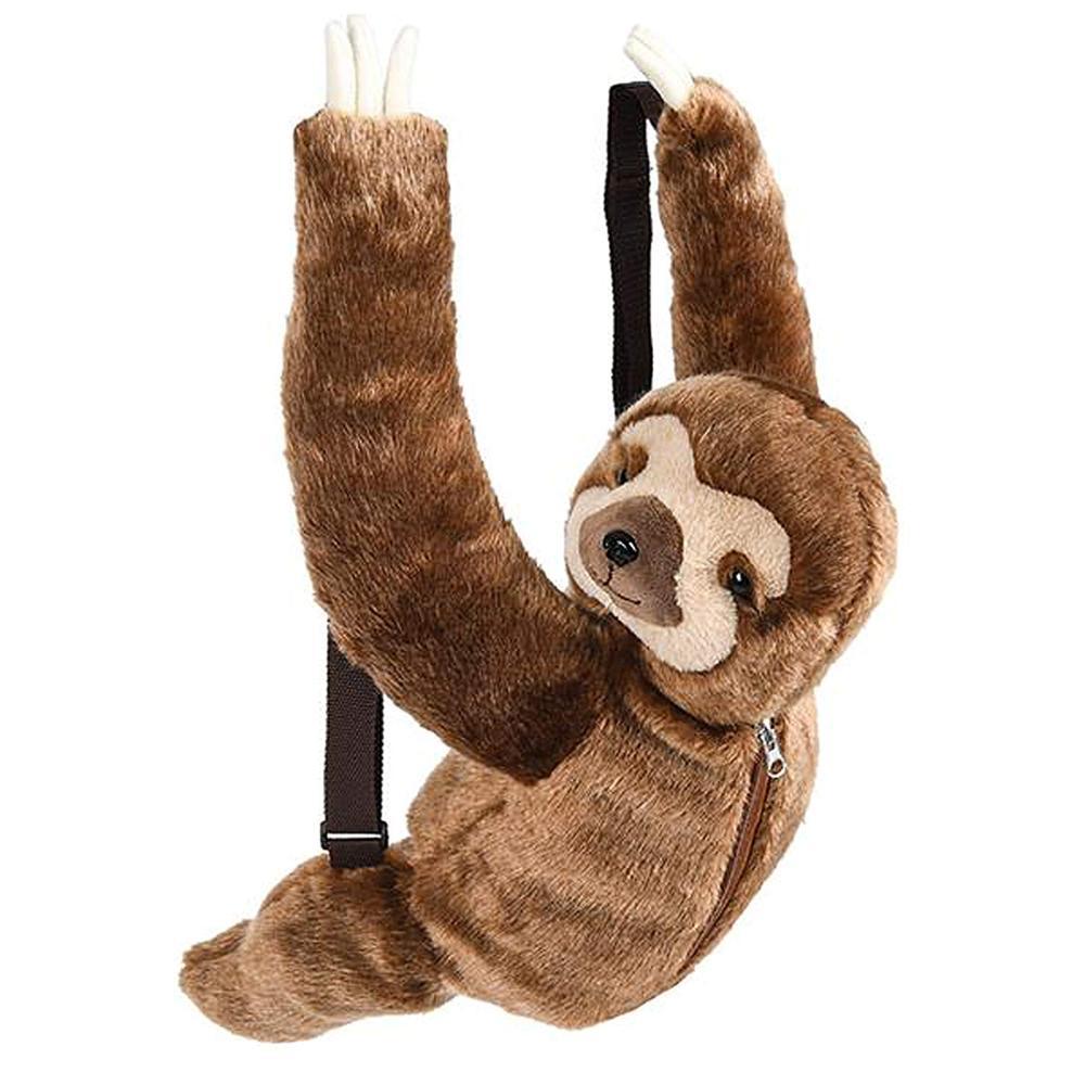 Plush Animal Travel And Adventure Kids Plush Backpack