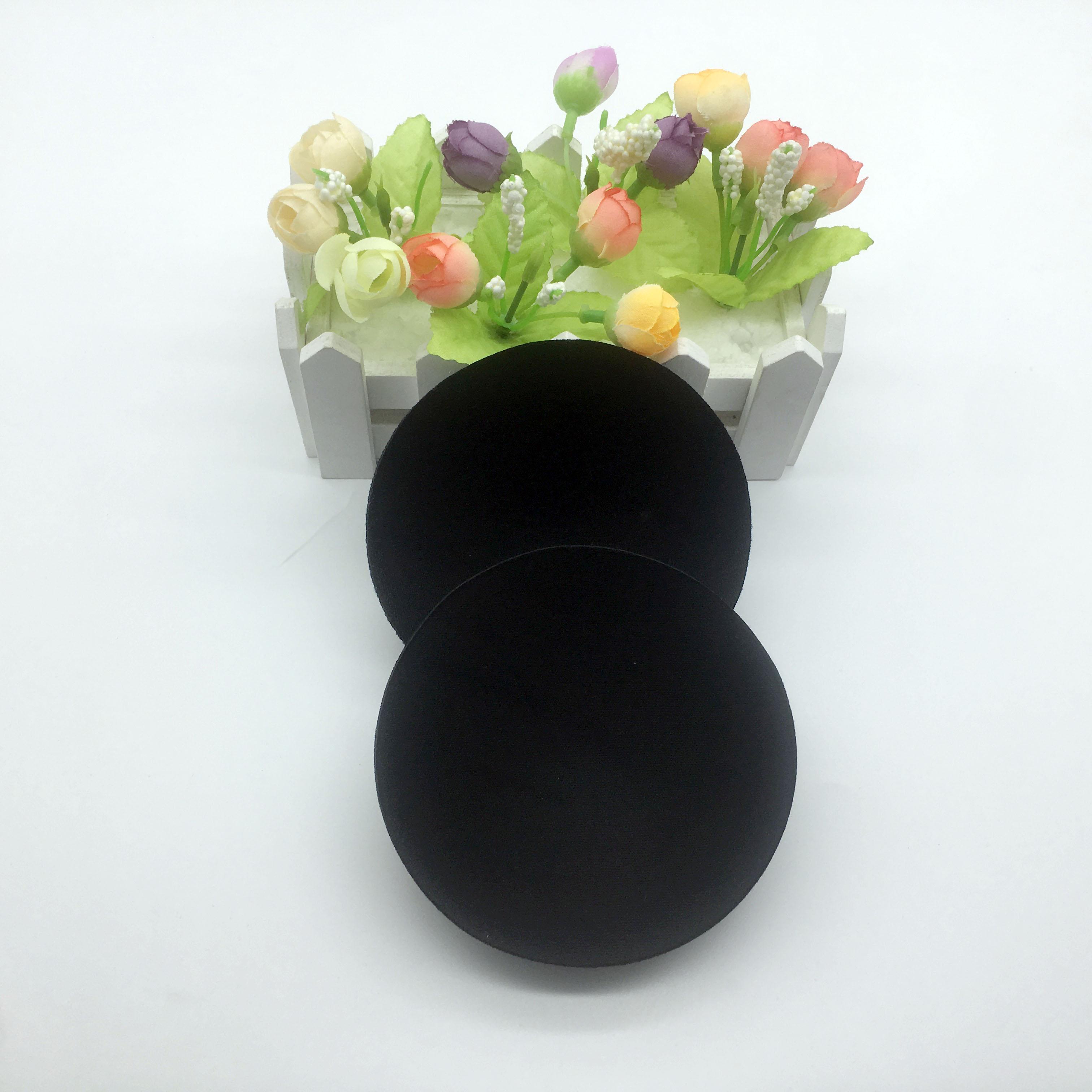 Sutiã de amamentação Almofada lavável Reutilizáveis personalizado, Orgânica De Bambu sutiã De Amamentação almofada para maiô, almofada do copo do sutiã invisível Inserção de Silicone macio